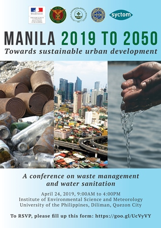Manila 2019 to 2050: Towards sustainable urban development (April