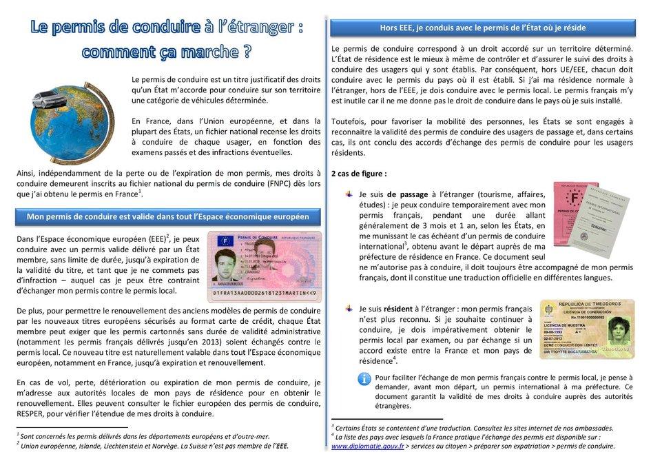 Permis De Conduire La France Aux Philippines Et En Micronesie
